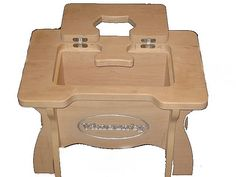 Stool - bench with storage space for the tools , cooler with drinks , or as a compartment for the vegetables ( when kept in the kitchen )