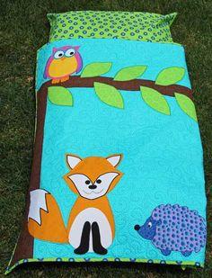 Childs Nap Pack Pattern Kids Animal Sleeping Bag Toddlers Simplcity 1389 Sewing