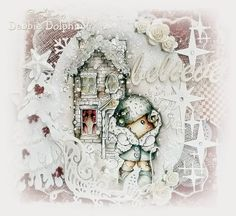 Magnolia cards by Debbie: Baby It's Cold Outside