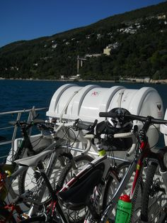 Trieste coast by boat and by bike