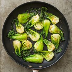 This vegetable's clean, mild flavor is an asset. We don't muddy it with browning.