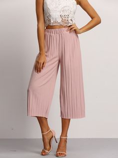 Hip Size(cm): 84cm Waist(cm): 56-76cm Size Available: one-size Waist Type: Mid Waist Pant Length: Long Fabric: Fabric has no stretch Season: Summer Type: Trousers Pattern Type: Plain Color: Pink Mater