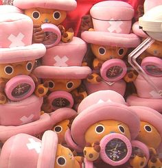 'Tony Tony Chopper' straw hat pirate toys in a prize grab machine, shinjuku gaming arcade, tokyo
