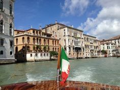 View of Venice from a water taxi (photo Sarah Ricks)