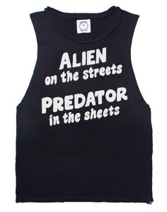 Aliens in the Street Tank: http://shop.nylonmag.com/collections/whats-new/products/aliens-in-the-street-tank #NYLONshop
