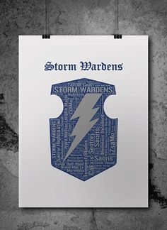 Storm Wardens Warhammer 40K Printable Poster  by ZsaMoDesign
