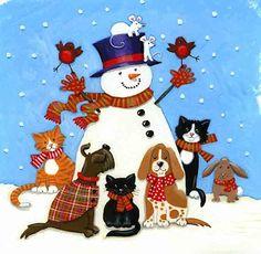 Snowman by Kate Mawdsley