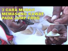 3 CARA MUDAH MEMASANG KAWAT PADA JUMP FROG || RADA LURE - YouTube Fishing Videos, Fishing Lures, Youtube, Fishing Jig, Youtubers, Youtube Movies, Bass Fishing Lures