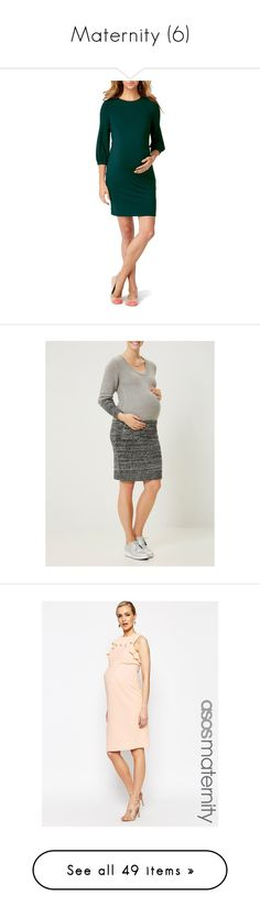 """""""Maternity (6)"""" by chelseaofwales ❤ liked on Polyvore featuring maternity, emerald, beige, crnbry foulard print, dresses, blue, cowl neck dress, blue dress, sheath dress and cowlneck dress"""