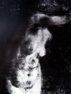 Monotype by Edgar Degas, 1834-1917