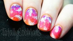 Fantasy Feather Nails