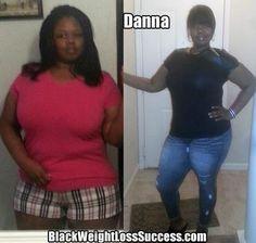 Danna lost 83 pounds