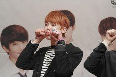 [10.10.2015] Astro Fansign - SanHa