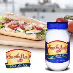 Te presentamos nuestra mayonesa #SiembraReal, ideal para acompañar en esos platos únicos y especiales!