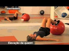 Fit ball iniciante.mp4 - YouTube