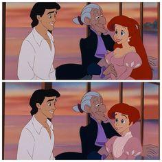 God I love genderbent Ariel au (Not Eric, just ariel) Disney Pixar, Disney Au, Disney Boys, Arte Disney, Disney And More, Disney Memes, Disney Animation, Disney Cartoons, Disney And Dreamworks
