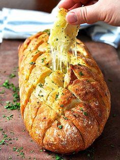 "Cheese & Garlic ""Crack"" Bread"
