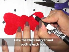DIY: Ears & Bow for Hello Kitty Costume