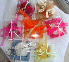 Handmade soap Set of 14 Soaps boxes Guest by JoannasScentedSoaps