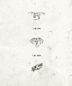 I love the ending of The Hobbit: The Desolation of Smaug!!!!!!!!! I want the middle one for a tattoo