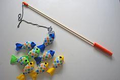 Felt Fishing Set #Kid #Toy #Felt