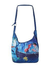 HOTTOPIC.COM - Disney The Little Mermaid Ariel & Eric Boat Hobo Bag