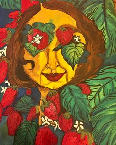 Strawberry Fields, Throwback Thursday, The Beatles, Original Art, My Etsy Shop, Watercolor, Inspired, Artwork, Painting