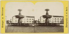 Charles Gerard | Munich (Baviere), Fontaine, place de l'Universtite, Charles Gerard, 1860 - 1870 |