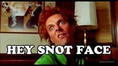 Drop dead fred! Loved this movie when i was little, & LOVE it even more now that im older! : D Of course fred is my favorite character, rick mayall is so hilarious. : )  (she shoulda just married fred & lived in that giant dollhouse) lol!