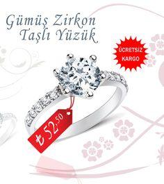 Gümüş Zirkon Taşlı Yüzük ve tüm bayan gümüş yüzük modelleri çok özel fırsatlarla sizleri bekliyor...