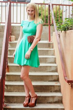 Stylish Outfit: Spring Green