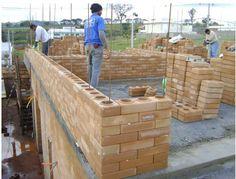 casas construidas com tijolo ecologico - Google Search
