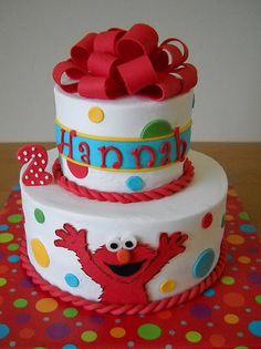 I love this ELMO cake!