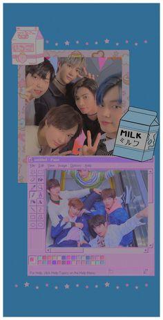 K Wallpaper, Kawaii Wallpaper, Cute Wallpaper Backgrounds, Pretty Wallpapers, Aesthetic Iphone Wallpaper, Aesthetic Wallpapers, Cool Kpop Wallpapers, Kpop Backgrounds, Kpop Posters