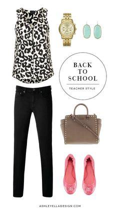 Ashley Ella Design: Back to School: Teacher Style