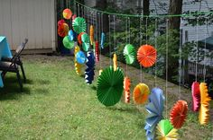 """Photo 2 of Dinosaurs / Birthday """"George's DYNOmite Birthday Party"""" Kite Decoration, Paper Fan Decorations, Rainbow Party Decorations, Wedding Stage Decorations, Indian Wedding Receptions, Desi Wedding Decor, Wedding Mandap, Party Wedding, Wedding Ideas"""