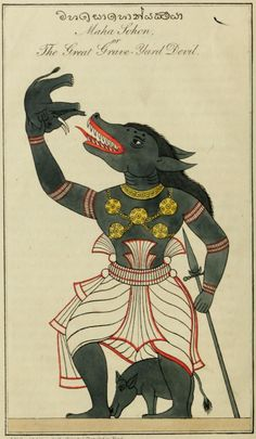Ancient Aliens, Ancient Art, Medieval, Angels And Demons, Mythical Creatures, Indian Art, Sri Lanka, Devil, Creepy