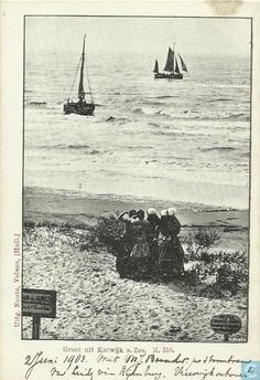 Ansichtkaarten - Katwijk aan Zee - Groet uit Katwijk a. Zee