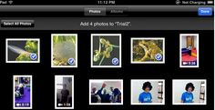 Creating a Visual Schedule in your iPad Photo Album