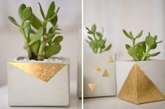 Sometimes It's Hip to be Square: 15 Holiday Decor Ideas for Modern Homes via Brit + Co.