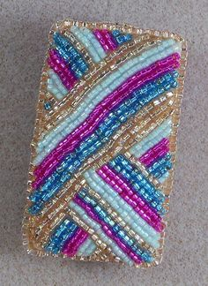 Bead Embroidered Needle Case