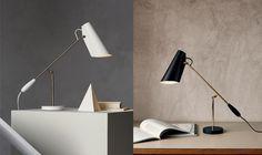 "Table lamp ""Birdy"" from Northern Lighting Desk Lamp, Table Lamp, Scandinavian Design, Lighting Design, Furniture Design, Interior Design, Modern, Inspiration, Lightning"