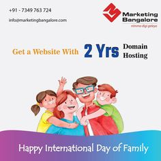 For your ideas, we are here to nurture it and support your every step as a family 💚 Call us today for website development at 7349763724 Digital Marketing Services, Social Media Marketing, International Family Day, Seo Sem, Lead Generation, Website, Ideas, Thoughts