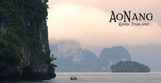 December this is where we will find ourselves . Ao Nang Beach, Krabi Thailand, Tourism, December, To Go, Hotels, Mountains, Water, Places