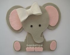 Ideas Baby Shower Ideas For Girls Themes Elephant Animals Elephant Party, Elephant Baby Showers, Baby Elephant, Baby Crafts, Felt Crafts, Crafts For Kids, Paper Crafts, Baby Shower Parties, Baby Boy Shower