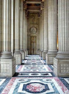 Entrance to the Royal Tribune at the Royal Chapel at Château de Versailles