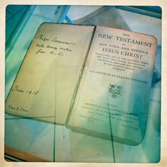 The bible of Roger Casement, currently on loan to the Museum from the Kelly family. This along with many other artefacts never before seen by the public can be viewed in our Volunteers Exhibition in the Museum's Prospect Gallery.   Marking the foundation of The Irish Citizens Army (19th, November 1913) and the Irish Volunteers (25th November, 1913)  Open daily.