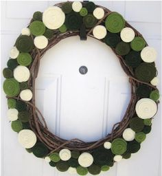 st patrick wreath