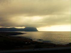 Sky in the Sicilian Sea
