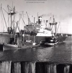 Tugboats Walter Ross and Security, Searsport, ca. 1965